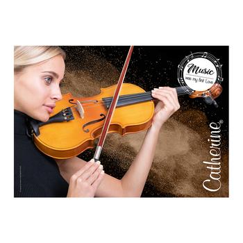 Werbeposter <br>violin