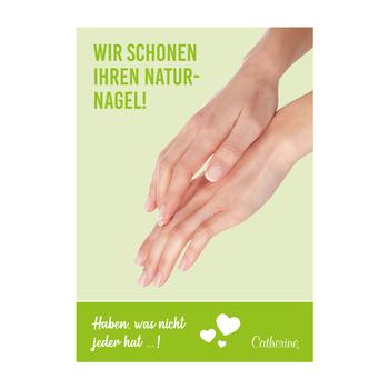 Werbeposter <br>Natural Nail