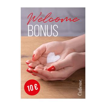 Werbeposter <br>Welcome Bonus