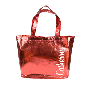 Bag metallic-red