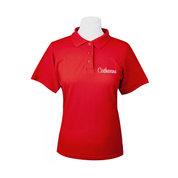 Polo Shirt<br>red Women