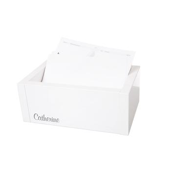 Cardboard Box <br>inkl. Register + <br>Kundenkartei